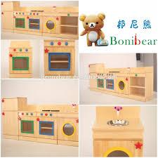 Preschool Kitchen Furniture Preschool Toy Wooden Kitchen Play Set Toys Buy Kitchen Play Set