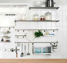Small Picture Kitchen Metal Shelves Ikea Eiforces