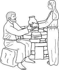 Small Picture Mws l1 coloring pagejesus and the woman at the well First Look