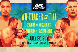 UFC Fight Night: Whittaker vs Till ...