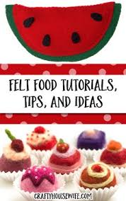 Felt Food Patterns Best DIY Felt Food Patterns And Tutorials I'm Pretty Much In Love With
