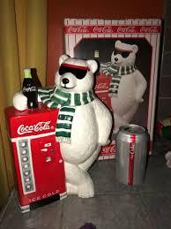 Coke Polar Bear In Bottle Vending Machine Amazing Coca Cola Cookie Jar Polar Bear Wvending Machine 48 EBay