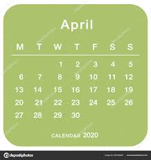 April 2020 Template April 2020 Planning Calendar Simple April 2020 Calendar Week