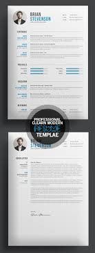 Great Clean Resume Design For More Resume Design Inspirations