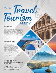 Travel And Tourism Flyer Psd Template Psdflyer Co