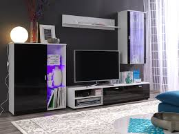 White Gloss Living Room Furniture Uk Modern Tv Storage Units With Full Carpet Stroovi Tv Cabinet With