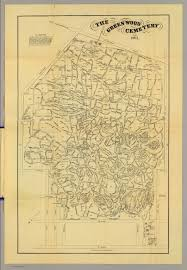 greenwood cemetery  david rumsey historical map collection