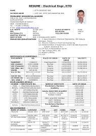 Awesome Merchant Navy Resume Pictures - Simple resume Office .