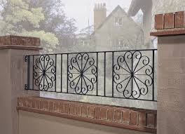 edinburgh wrought iron garden railings
