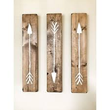 rustic white wooden arrows 3 piece set rustic decor farmhouse decor arrow decor rustic nursery decor gallery wall decor wooden arrow usd by  on rustic white wood wall art with 122 best for the home images on pinterest creative ideas good