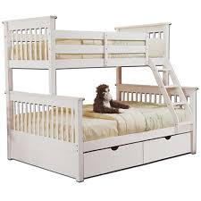 girls white bunk beds.  Beds Marina Twin Over Full Bunk Bed White Inside Girls Beds I