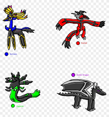 The benefits of coloring pages: Xerneas Yveltal Zygarde And Ender Dragon Xerneas Yveltal Zygarde Fusion Clipart 5086237 Pikpng