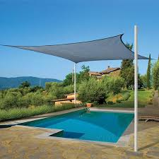 rectangle outdoor shade sail 95 uv protection pool garden canopy cover new size 3m