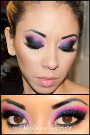 pink gogo makeup you tutorial kmbmakeup if i m ever a gogo dancer