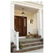 front door lightsFront door with hanging light centered  House Design