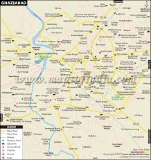 Ghaziabad Chart 2018 Ghaziabad City Map