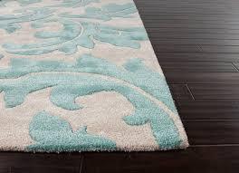 aloha baroque leaf area rug 5 8