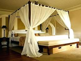Curtains Around Bed Canopy Drapes For Sale Medium Size ...