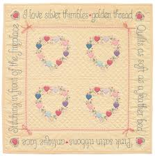 How to appliqué (from an appliqué icon) - Stitch This! The ... & Heirloom Hearts from Mimi Dietrich's Favorite Applique Quilts Adamdwight.com