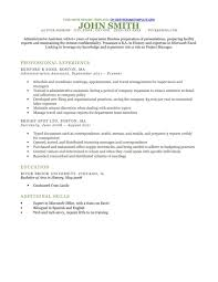 Free Resume Template Executive Styles Free Resume Templates