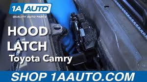 How to Replace Install Hood Latch 97-01 Toyota Camry Buy Parts ...