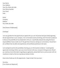 Letter To Interview 28 Best Phone Interview Thank You Letter Email Samples
