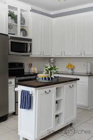 painted kitchensRemodelaholic  DIY Refinished and Painted Cabinet Reviews