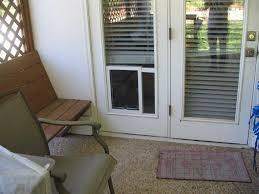 Modernization of French Door Doggie Door — Dahlia's Home