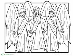 Angel Coloring Pages Educationcom