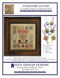 Details About Friendship Blooms Needlework Smalls Cross Stitch Sampler Blue Ribbon Designs