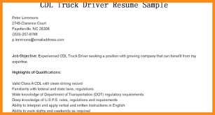 Qualification Sample For Resume 12 13 Truck Driver Qualifications Resume Lascazuelasphilly Com