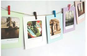 10X Paper Photo Frame Picture Hanging Album Frame Gallery With Hemp Rope Clips  Hang Album Stand Kraft Frame Clips ZQ872142-in Frame from Home & Garden on  ...