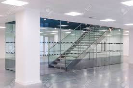 contemporary office building. Stairs In Contemporary Office Building Stock Photo - 78132644 A