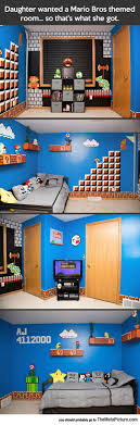 funny mario brothers bedroom deco bedroomcomely excellent gaming room ideas