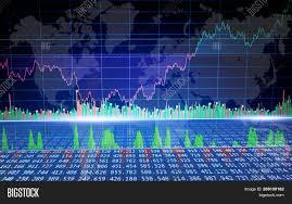 Global Graph Image Photo Free Trial Bigstock