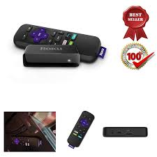 3700RW HD Streaming Media Player 5x More Powerful Stream Tv Box New Roku  Express