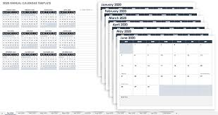 Free, Printable Excel Calendar Templates for 2019 & On ...