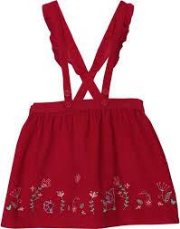 Beebay Size Chart Beebay Embroidered Baby Girls Flared Maroon Skirt Buy