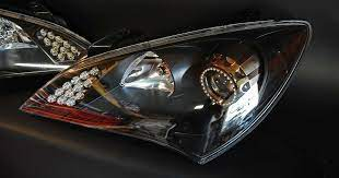 Jason S Bronze Chrome Genesis Coupe Led Headlights By Flyryde Hyundai Genesis Coupe Hyundai Genesis Coupe