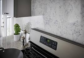 quartz countertops and backsplash for a streamlined look consider using the same material