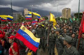 Venezuela lässt hunderttausende Soldaten aufmarschieren