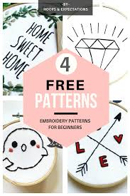 Punch Needle Embroidery Patterns Free Unique Ideas