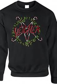 Ugly Heavy Metal Christmas Sweaters - Holiday Band Merch for 2016