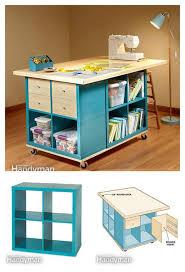 diy ikea furniture. diy craft room table with ikea furniture diy
