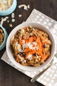 carrot cake steel cut oats slow