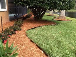 image of garden metal edging