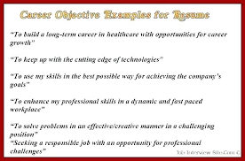 Sample Objectives Resume Sales Lady Career Objective For It Tutorial