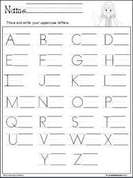 Letter Practicing Penguin Uppercase Letter Writing Alphabet Writing Practice