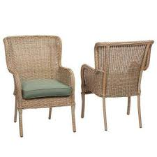 patio furniture home depot. lemon grove stationary wicker outdoor dining chair with surplus cushion 2pack patio furniture home depot i