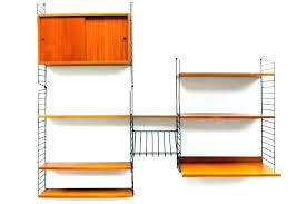 mid century modern shelf fabulous mid century shelving mid century shelf mid century modern wall unit
